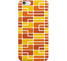 Mazes and patterns: rectangle iPhone Case/Skin