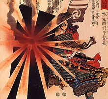 Honjo Shigenaga parrying an exploding shell by cadellin