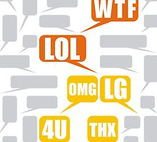 Mazes and patterns: speech bubbles by digitalstoff