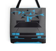 No183 My Back to the Future minimal movie poster-part II Tote Bag