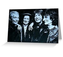 The Rolling Stones Greeting Card