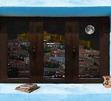 Window Into Greece 3 by Eric Kempson