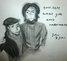 John and Yoko by RachClear