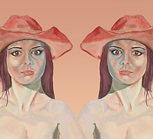Red hat girl ( double ) by precisionts