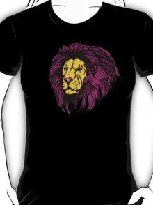 Lion Modern Pop Colors - T Shirt Prints and Stickers T-Shirt