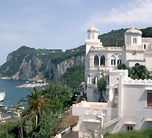 Italy, Capri overlook by JessicaRoss