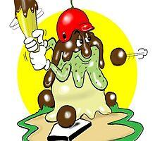 BASEBALL CARTOON by InspireCartoons
