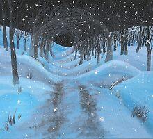 Snowy Landscpe by Yvonne Carter