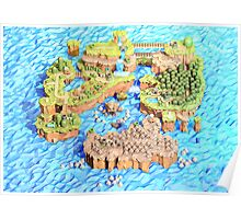 New Super Paper Mario World 3D Deluxe U Poster