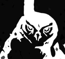 Inkblot Owl T-Shirt Sticker