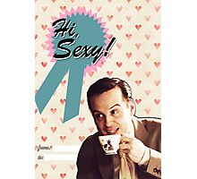 Moriarty Valentine's Day Card Photographic Print