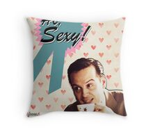Moriarty Valentine's Day Card Throw Pillow