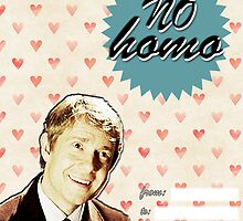 John Watson Valentine's Day Card by thescudders