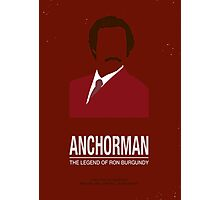 Anchorman Photographic Print