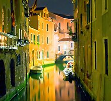 Italy. Venice in yellow by JessicaRoss