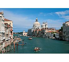 Italy. Venice in the distance Photographic Print