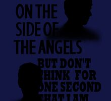 Side of the Angels Sherlock by rwang