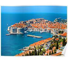 Croatia Harbor  Poster