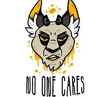 No One Cares by wilbuhpiglet