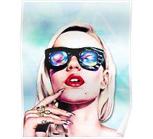 Iggy Azalea- Blue Poster