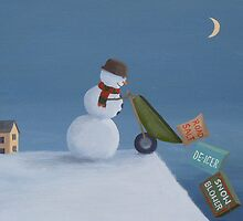 Snowman Survival Stragtegies by PhyllisGAndrews