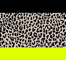 Leopard National Flag V by Mary Nesrala