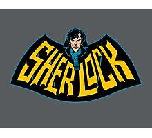 Sherlock Logo Photographic Print