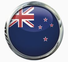 New Zealand Flag by 3Dflags