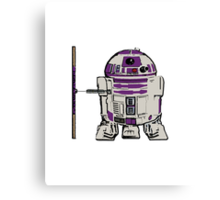 R2D2 DONATELLO Canvas Print