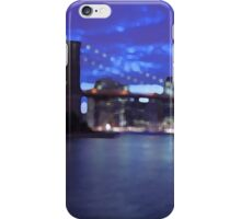 New York City Skyline Blue iPhone Case/Skin