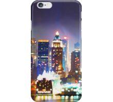 New York City Smoky Skyline iPhone Case/Skin