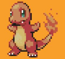 Pokemon FR/LG: 004 Charmander by RWHTL