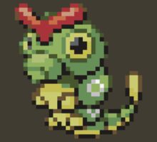 Pokemon FR/LG: 010 Caterpie by RWHTL