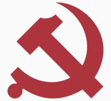 Chinese Communist Party Hammer and Sickle Stickers by NeoFaction