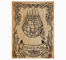 Mermaid Tarot Sticker: The Hanged Man by SophieJewel