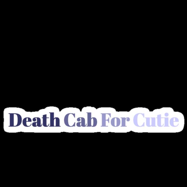 Death Cab For Cutie by MelMunro