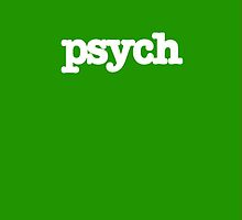 Psych Tv Show iPhone Case by Marcel Putrus