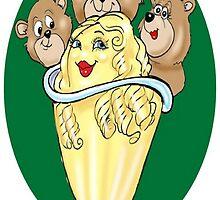 GOLDILOCKS CARTOON by InspireCartoons