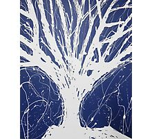Abstract Tree Painting by Parrish Lee Photographic Print
