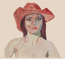 Red hat girl (single) T-Shirt