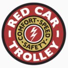 Red Car Trolley - Smaller Logo by gretchybear
