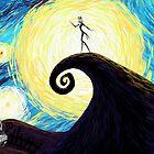 Starry Nightmare by NikkiWardArt