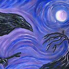 The Raven by Roz Barron Abellera