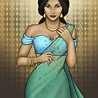 Princess Jasmine by CatAstrophe