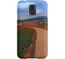 Road up to the mountains | landscape photography Samsung Galaxy Case/Skin