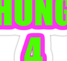 2 HUNG 4 BUNG Sticker