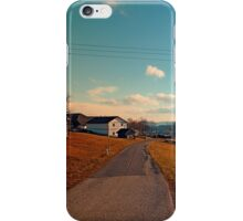 Scenic view at indian summer | landscape photography iPhone Case/Skin