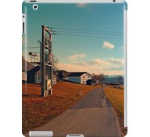 Scenic view at indian summer | landscape photography iPad Case/Skin