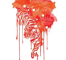 Painted tiger by Budi Satria Kwan