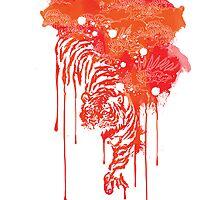 Painted tiger by Budi Satria Kwan